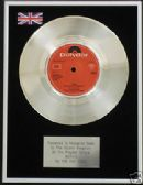 "BEE GEES - 7"" Platinum Disc - WORDS"